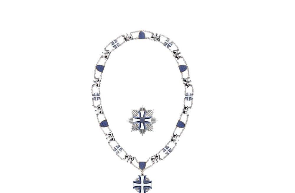 В Финляндии на продажу выставлен эстонский орден Креста земли Марии