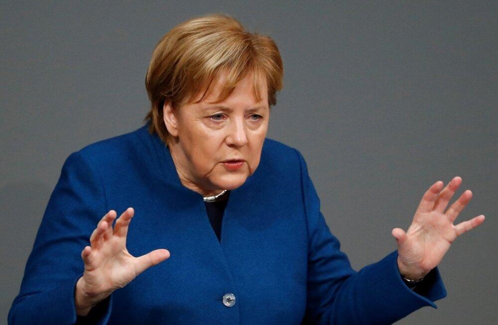 Merkel: rahvusriigid peaksid olema valmis suveräänsuse loovutamiseks