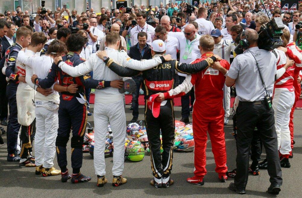 Massa: Bianchi surm muutis meid kõiki lähedasemaks