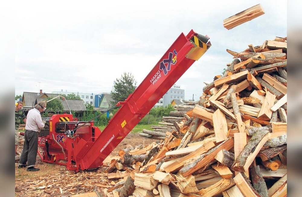 PÖÖRASELT KALLIS: Ostad puid Võrus, aga maksad nagu Brüsselis