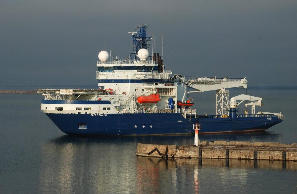 Teisipäevast algab jää murdmine Soome lahel