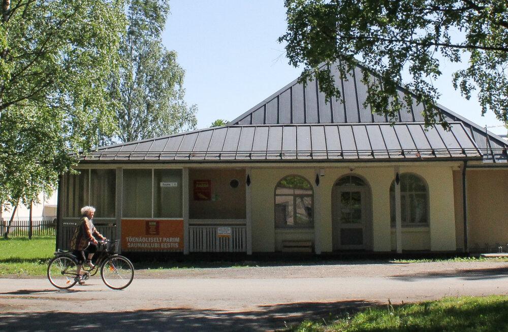 Kadrina 62aastane saun on Eesti vanim järjepidevalt tegutsev külasaun