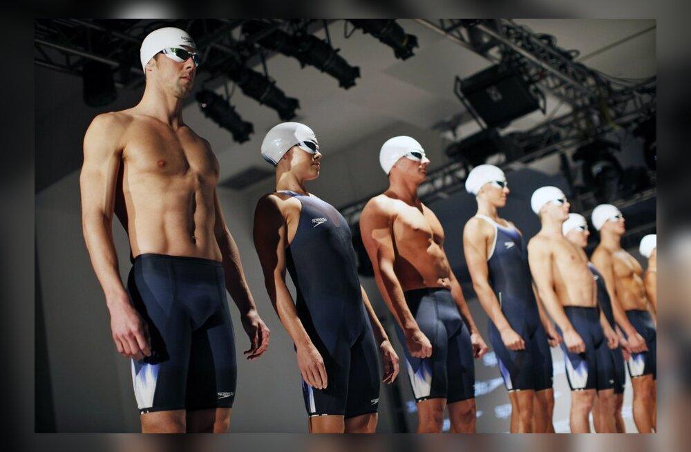 FOTOD: Michael Phelps: uus ujumiskostüüm on kui kingitus