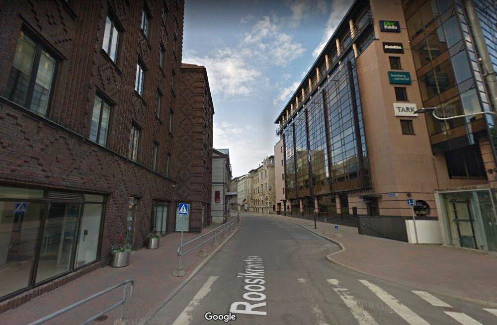 Начинается ремонт улицы Роозикрантси в центре Таллинна