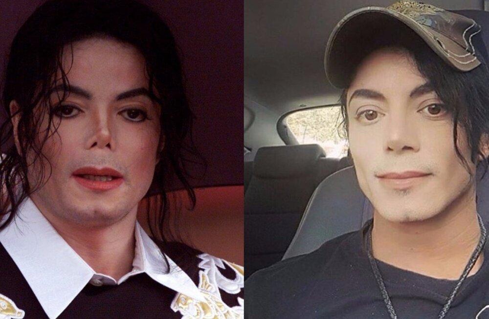NETT KIHAB: Uskumatu sarnasus! Sotsiaalmeedias levib kulutulena foto Michael Jacksoni teisikust