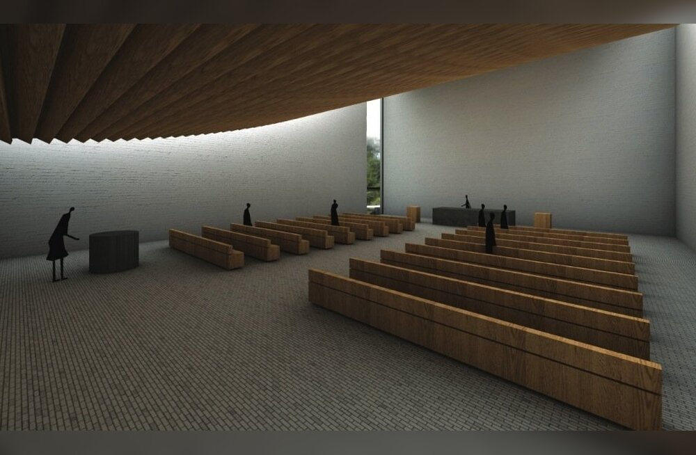 Fiat Lux, Mustamäe kiriku kavand