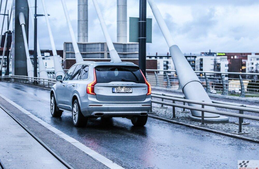 Sõidetud: Volvo XC90 T8 Twin Engine, hübriidajam nagu koolipoisi märg unenägu
