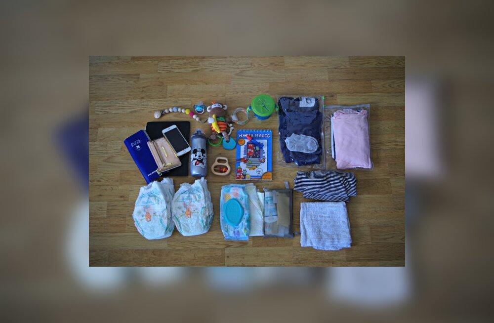db36af6df91 LOE: mida täpselt väikelastele reisile kaasa võtta - Pere ja kodu