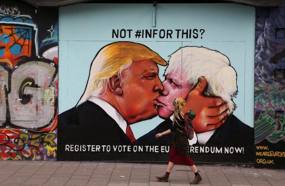 Sisepoliitiline valitsusetegu lükkas Suurbritannia maailma silmis nägupidi porri