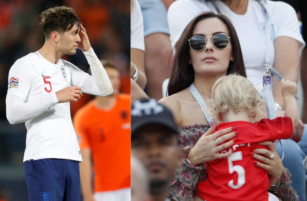 Inglismaa jalkakoondislase skandaalne eraelu: pikaajaline tüdruksõber jäeti päevapealt maha, et olla koos teise mehe last ootava naisega!