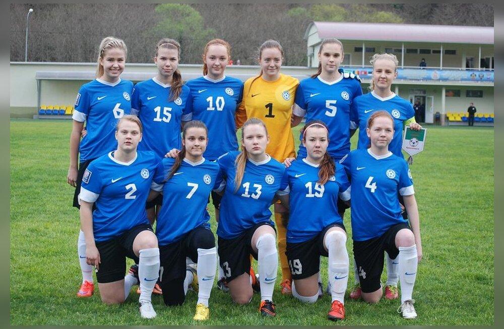 Eesti U19 jalgpallinaiskond