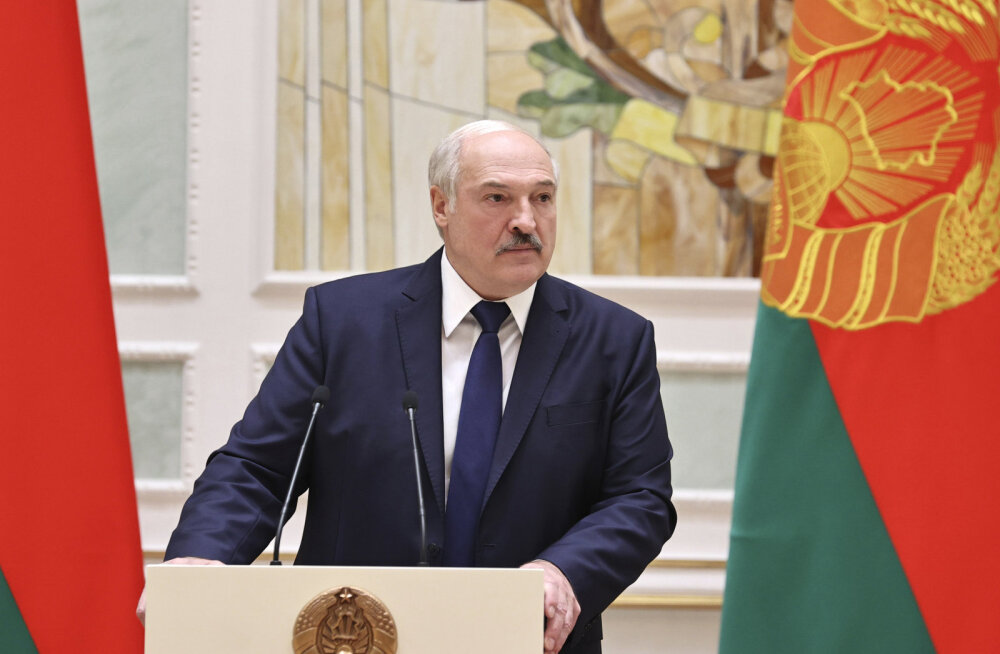 Lukašenka kurtis tõelise patriotismi puudumise üle Valgevene meeste hulgas