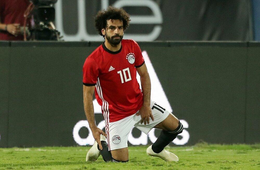 Mohamed Salah kohtumises Svaasimaaga.