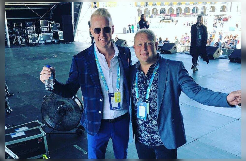 """Kas teadsid? Eurovisioni esimeses poolfinaalis laulavad """"La Forzat"""" ka Mihkel Mattisen ja Timo Vendt"""