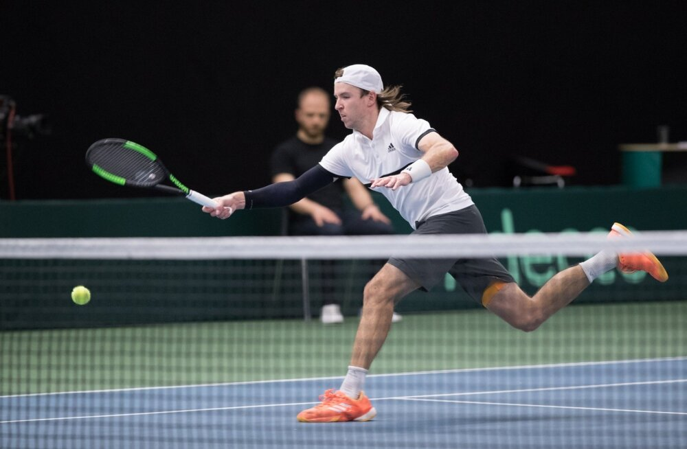 Davis Cup: Vladimir Ivanov (Eesti) - Romain Arneodo (Monaco)