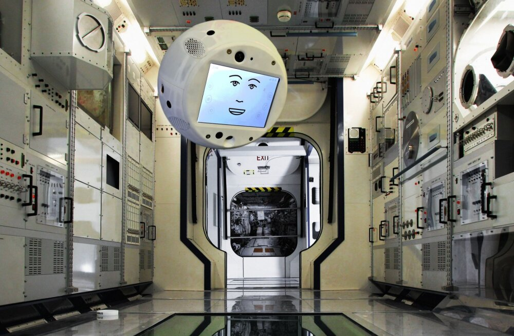 """Rahvusvahelise kosmosejaama meeskond saab endale peagi seltsiliseks """"hõljuva aju"""""""