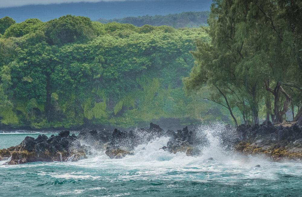 На Гавайях утонул остров