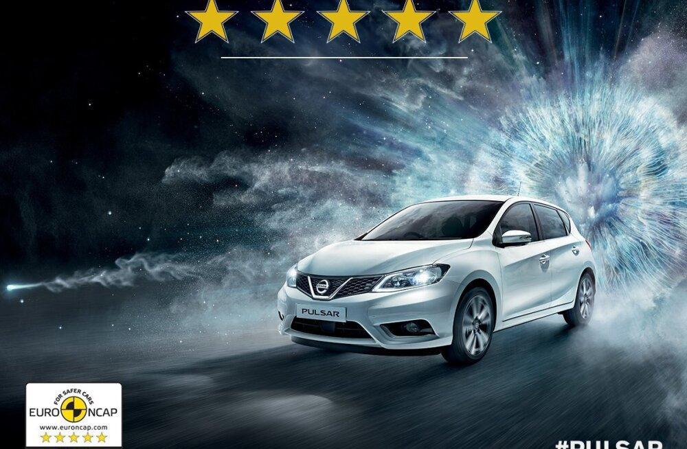 Nissan Pulsar — testitult turvaline auto