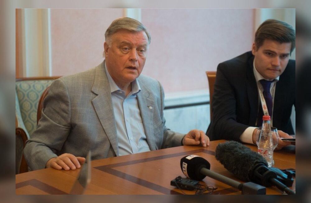 Venemaa Raudtee juht Vladimir Jakunin