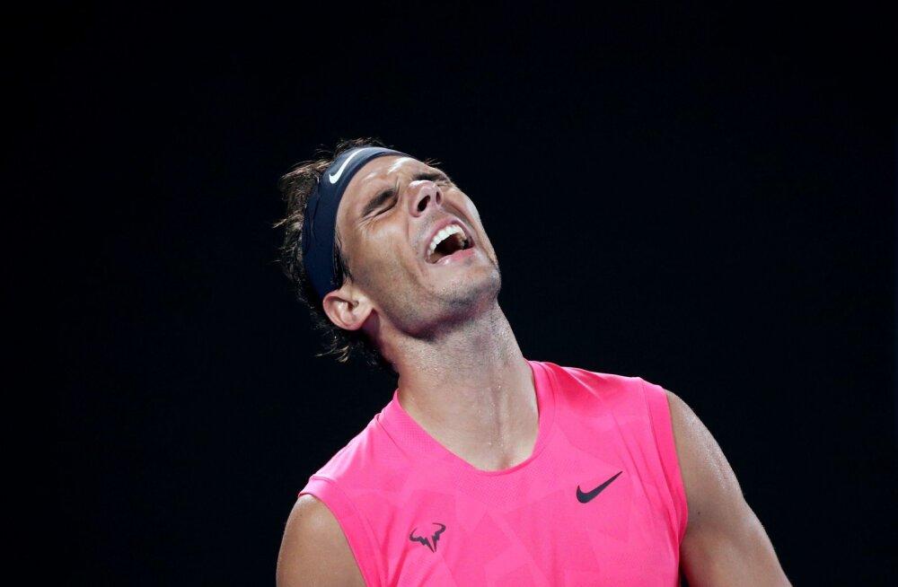 Rafael Nadal langes Austraalia lahtistel konkurentsist
