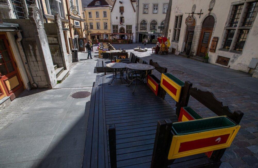 Turistid tulevad varsti Tallinna