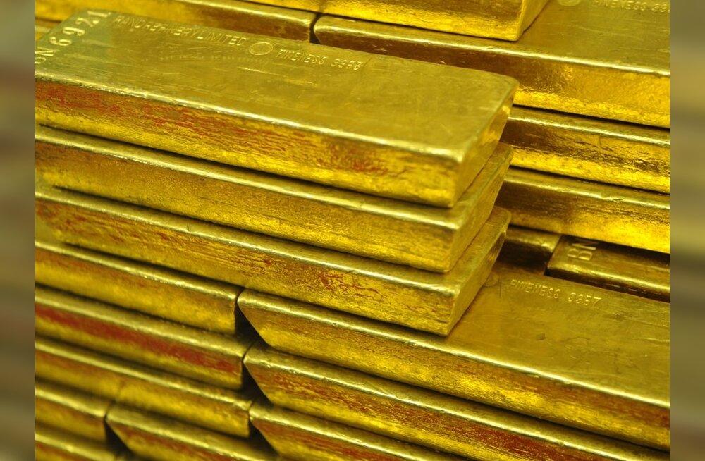 Mässulised: Gaddafi müüs sularaha saamiseks maha 29 tonni kulda