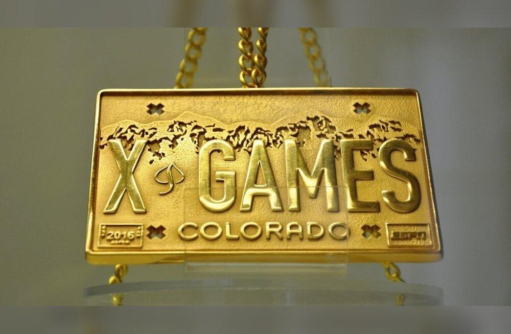 X-Mängude kuldmedal, Kelly Sildaru