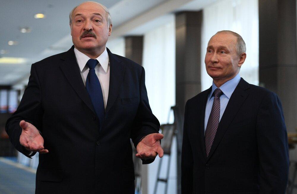 Lukašenka: Venemaal on juba nii ülbeks mindud, et hakatakse meil käsi väänama