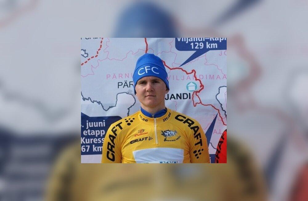 Gert Jõeäär, Saaremaa velotuuri liider, jalgratas