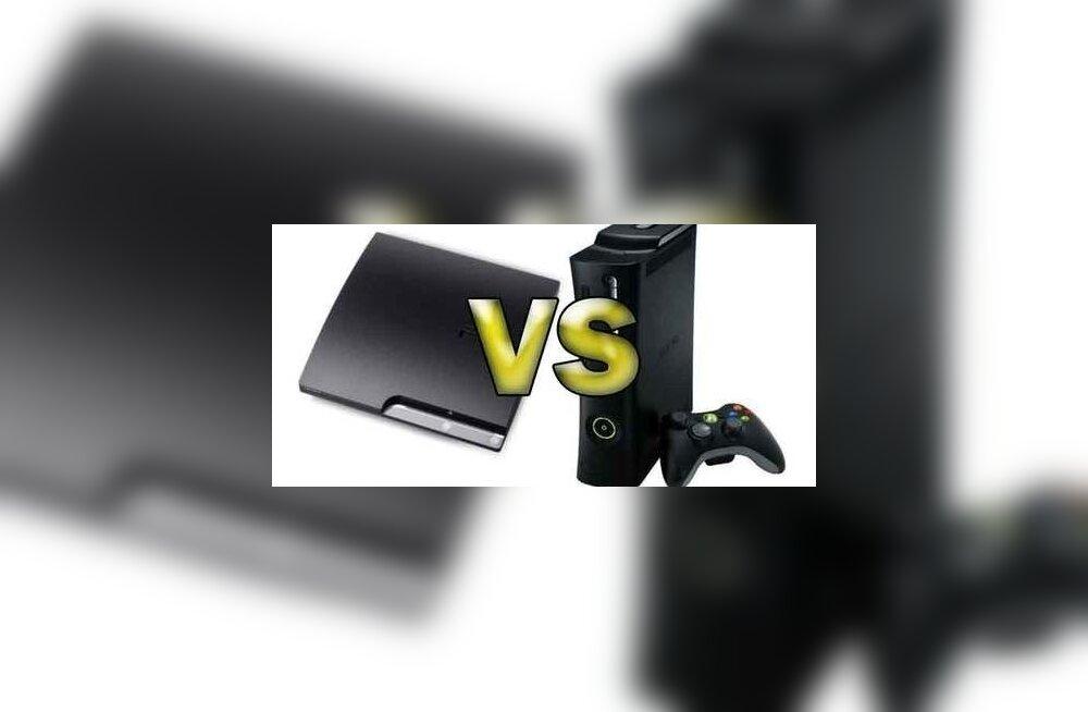 Konsoolivõrdlus: Playstation 3 või Xbox 360?