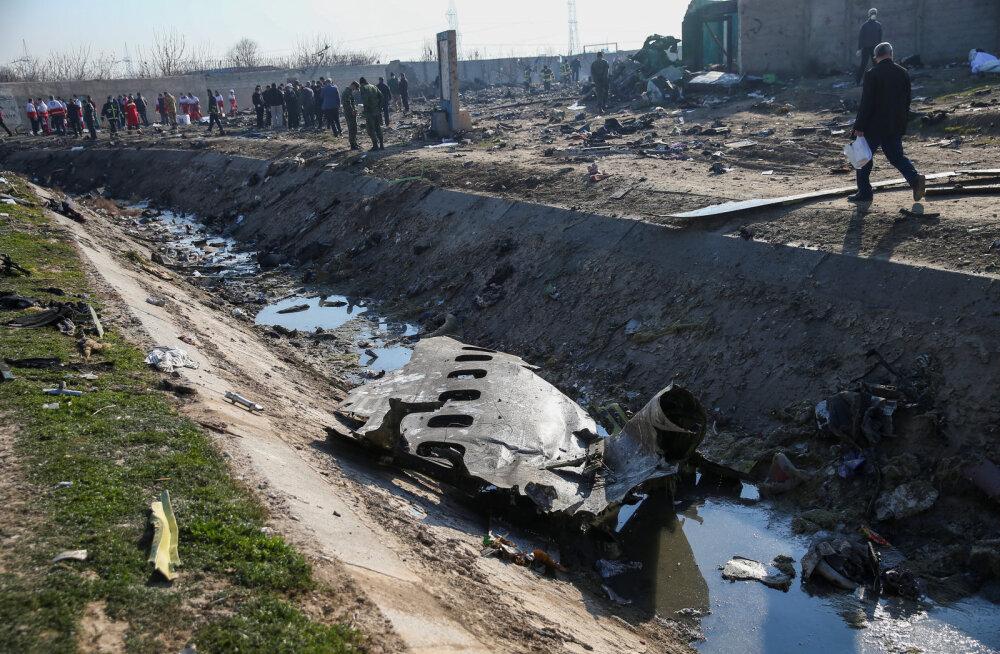 Iraani armee tunnistas Ukraina reisilennuki allatulistamist