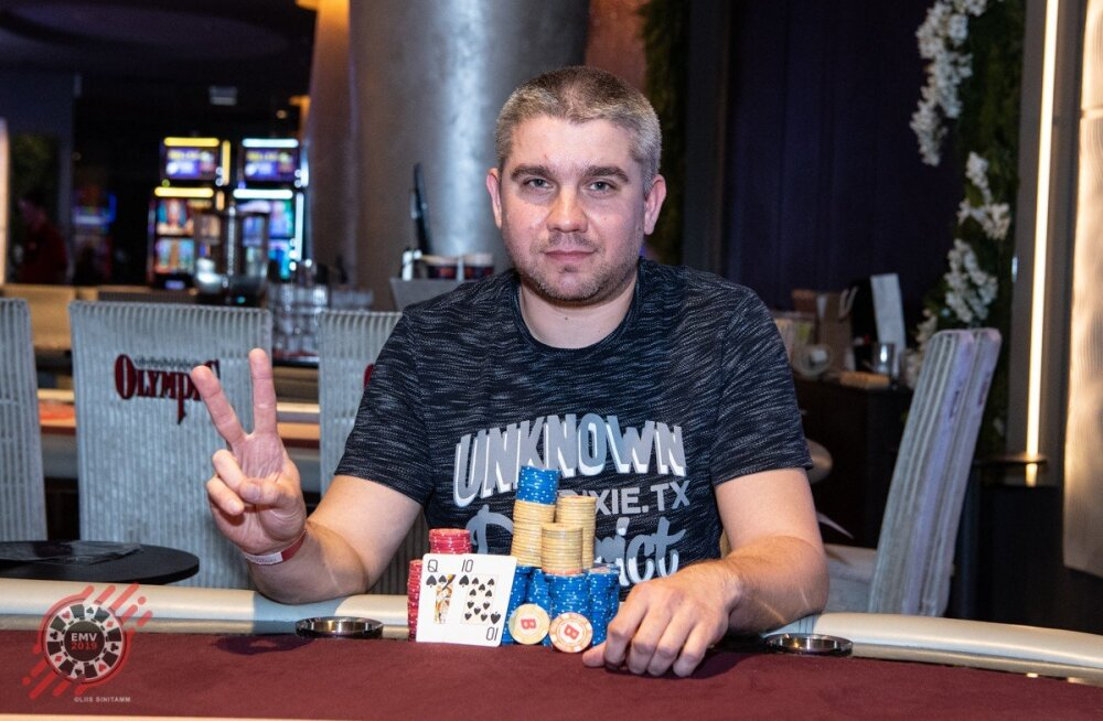 Pokkeri Eesti meistrivõistluste kalleima turniiri võitis Madis Palmi