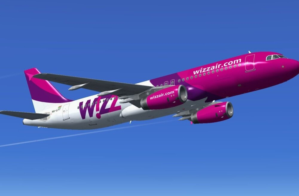 Wizz Air lennuk