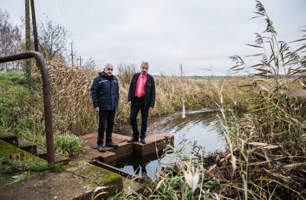 Andrus Reila ja Hillar Viksi meelest leiaks Valguta polder rohkem kasutamist, kui piiranguid vähem oleks.