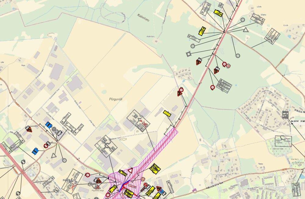 Põrguvälja liiklussõlme ehitus toob muudatusi liikluskorralduses