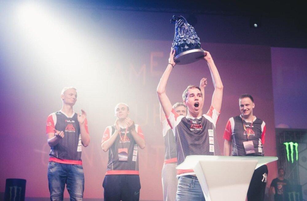 Eesti meeskond WASD Sports võitis Baltikumi suurima mängufestivali CS:GO turniiri