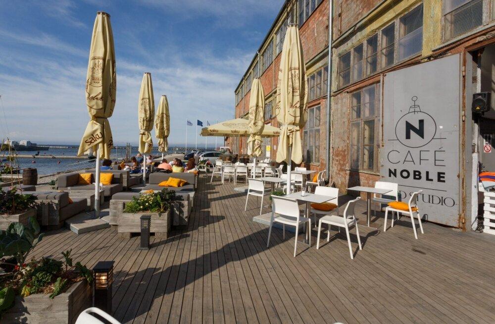 В Пыхья-Таллинне выбрали лучшие летние кафе