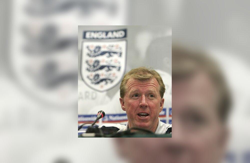 Inglismaa peatreener Steve McClaren
