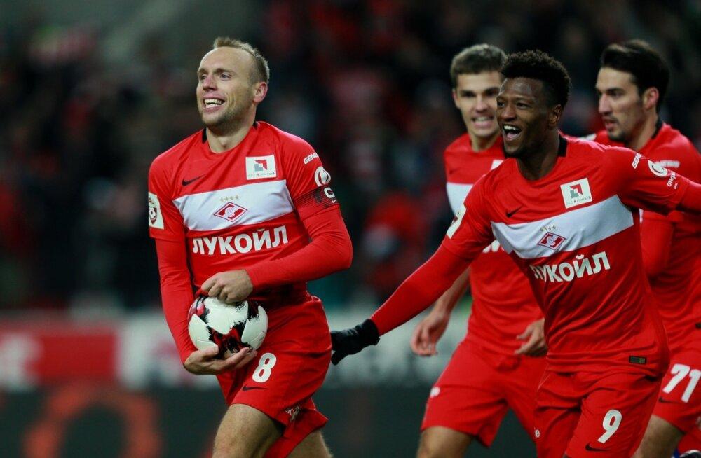 Spartak vs Rostov