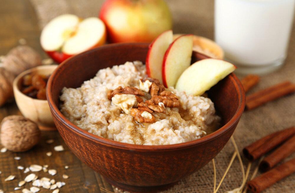 Tervislik hommikusöök on hea päeva alus