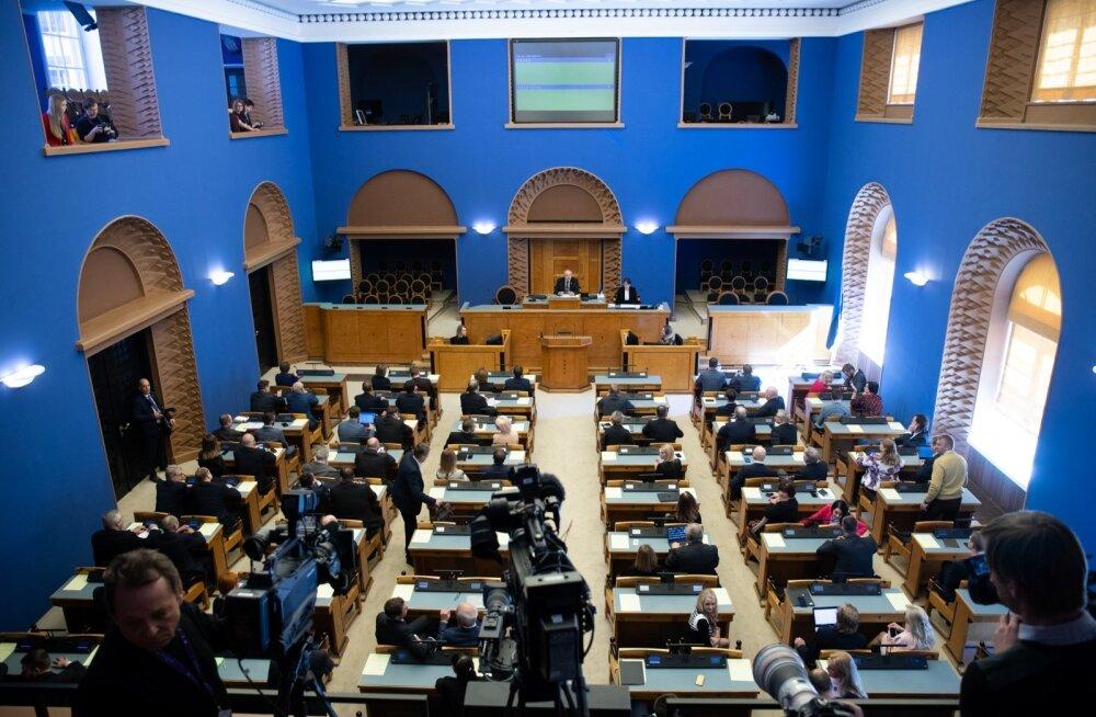 Riigikogu tähistab 100. sünnipäeva piduliku istungiga, kus peab kõne ka president