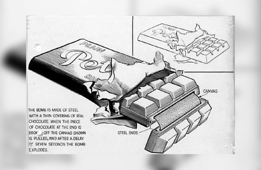 Natsid kavatsesid Churchilli šokolaadipommi abil mõrvata