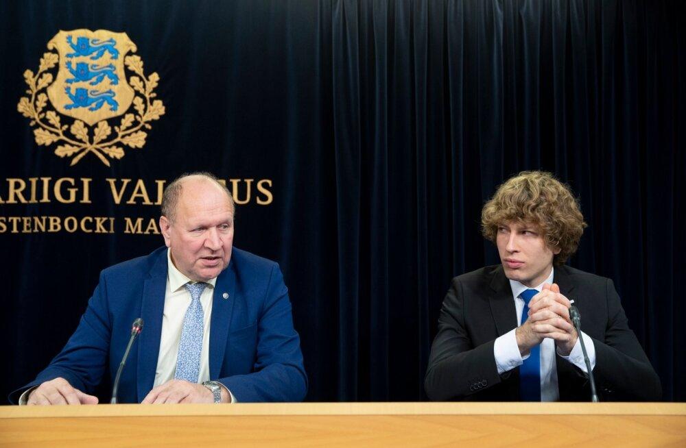 Mart Helme ja Tanel Kiik.