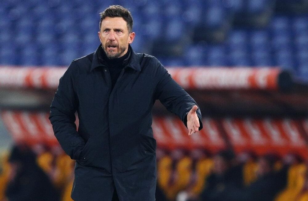 Cagliari peatreener järjekordsest kaotusest: olukord ajab väga vihaseks