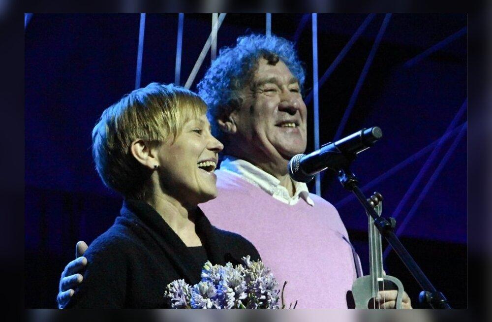 Sõru Jazzi korraldajad Pille Lukin-Kangur ja Guido Kangur