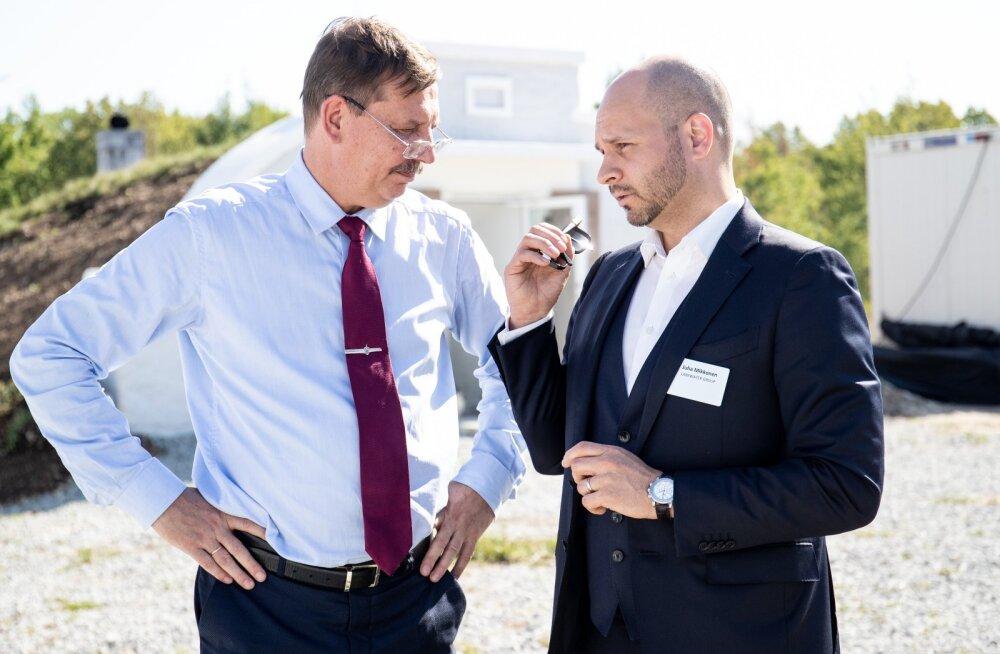 Taavi Aas ja Juha Mikkonen möödunud suvel Paldiskis.