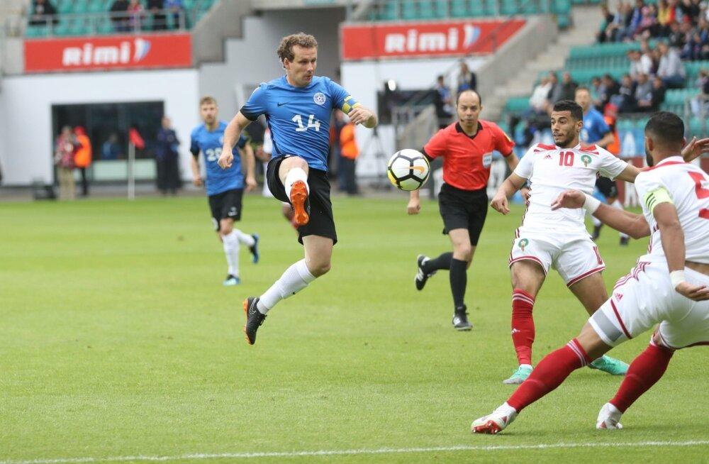 Eesti jalgpallikoondis võib aasta alguses uuesti MM-il mänginud Marokoga kohtuda