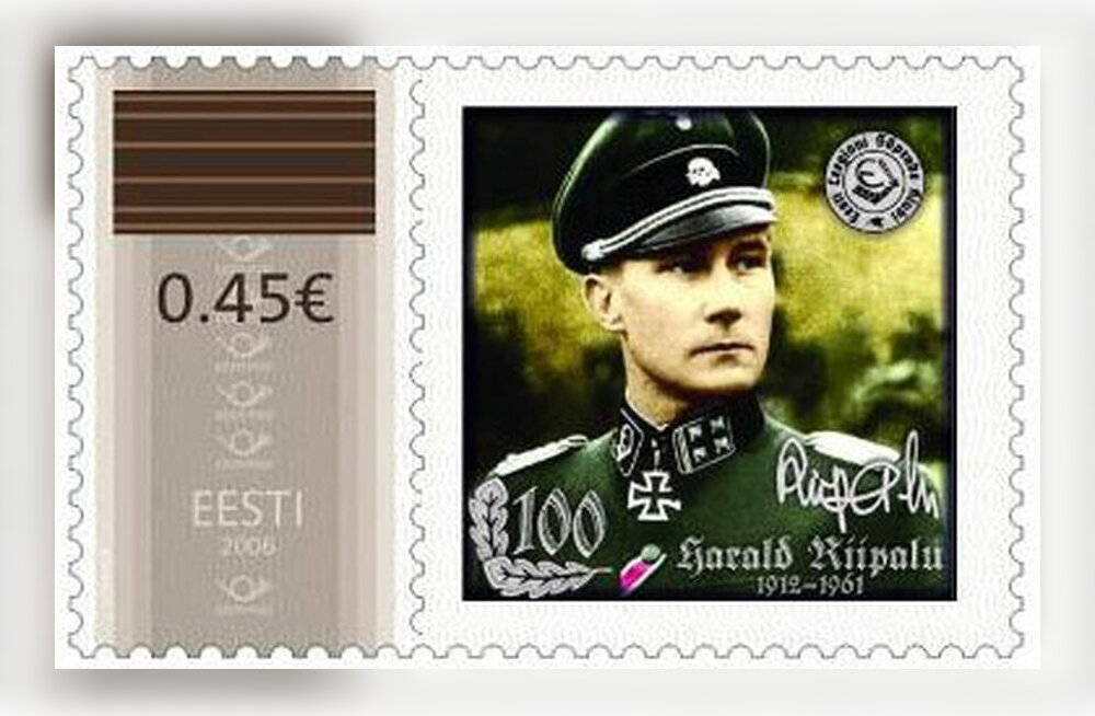 """Eesti Post keeldus """"natsistliku"""" mälestusmargi väljaandmisest"""