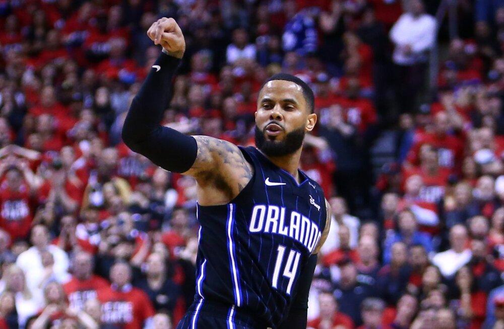 VIDEO | NBA-s algasid play-off kohtumised: Magic üllatas Raptorsit, Warriors võttis kindla võidu