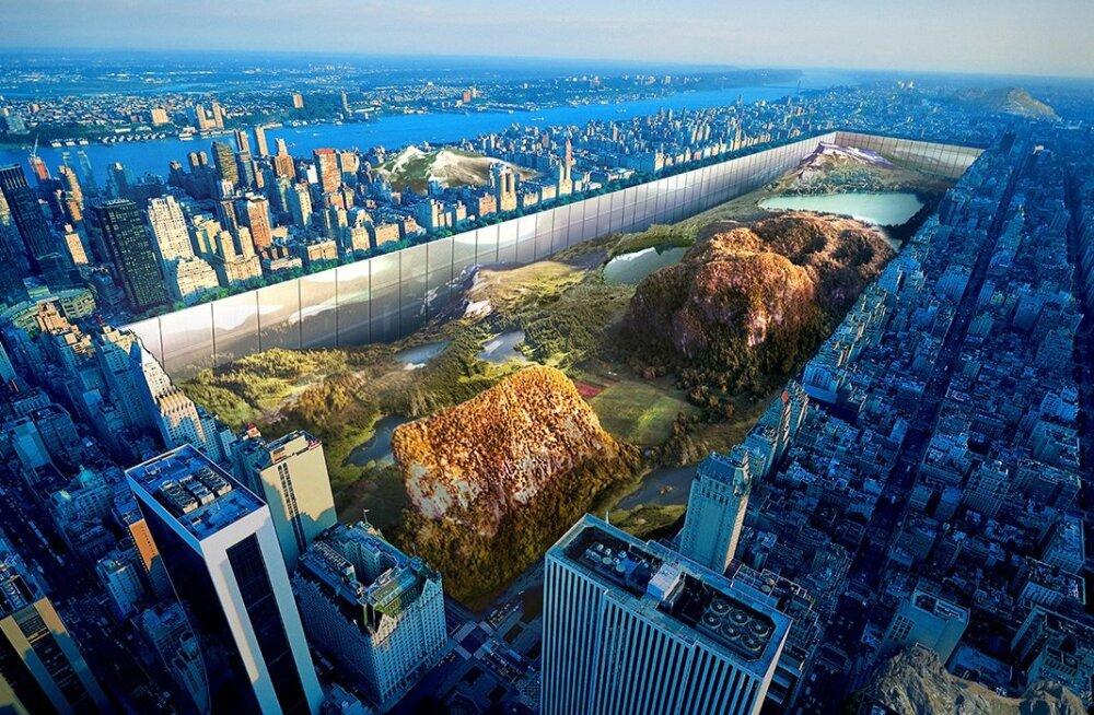 Pilvelõhkujate arhitektuurivõistluse võitjaks tuli suur auk maa sees